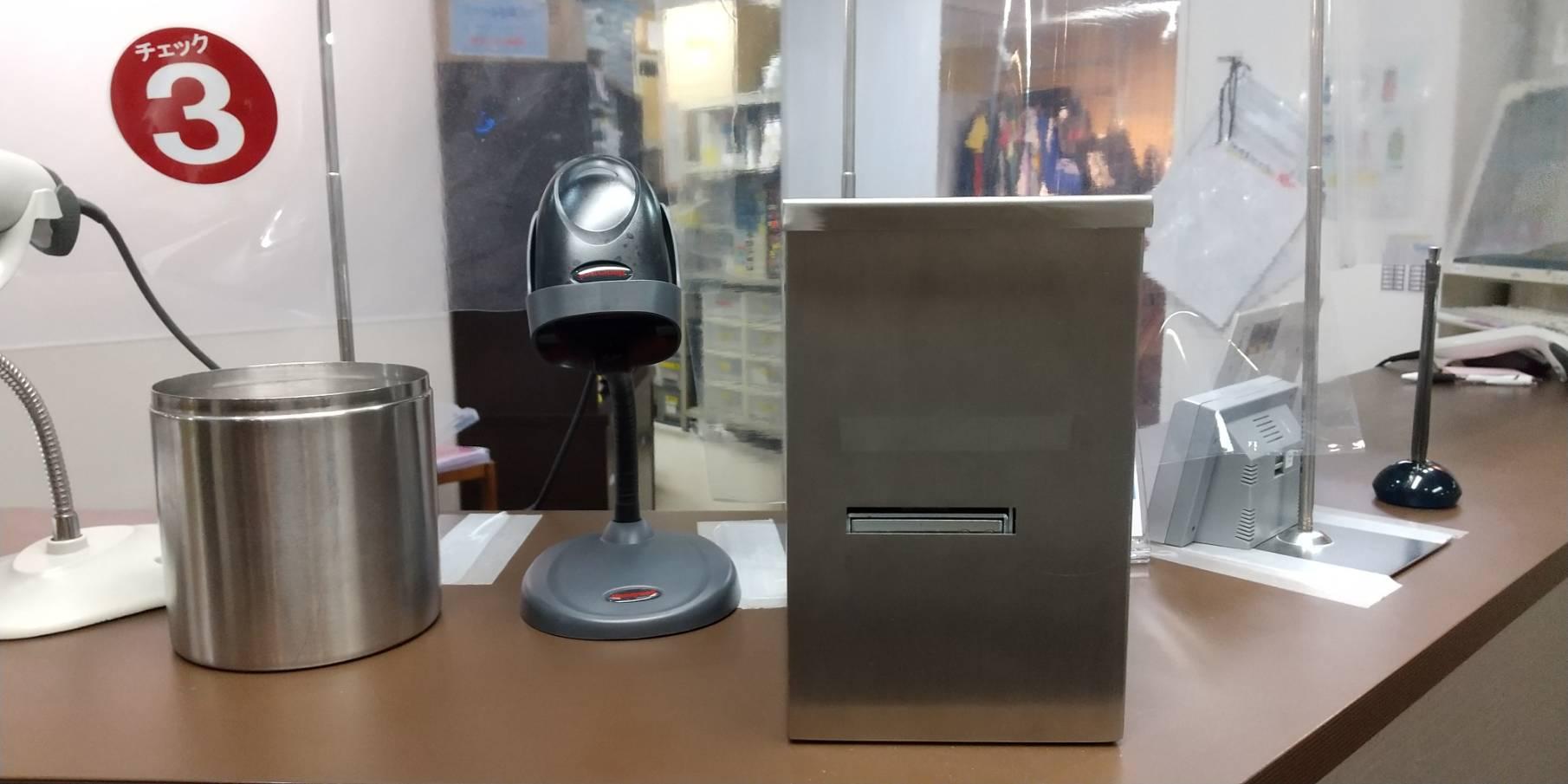 非接触カードフィーダー(自動カード発券機)
